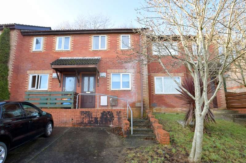 2 Bedrooms Terraced House for sale in 5 Hazel Tree Way, Brackla, Bridgend, Bridgend County Borough, CF31 2BJ.