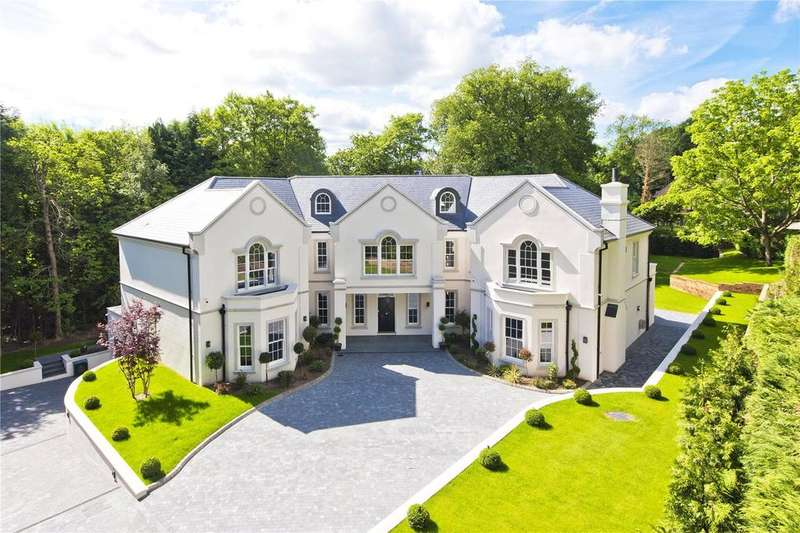 5 Bedrooms Detached House for sale in The Spinney, Queens Drive, Oxshott, KT22