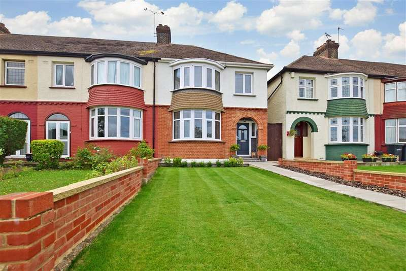 3 Bedrooms End Of Terrace House for sale in Rochester Road, , Gravesend, Kent