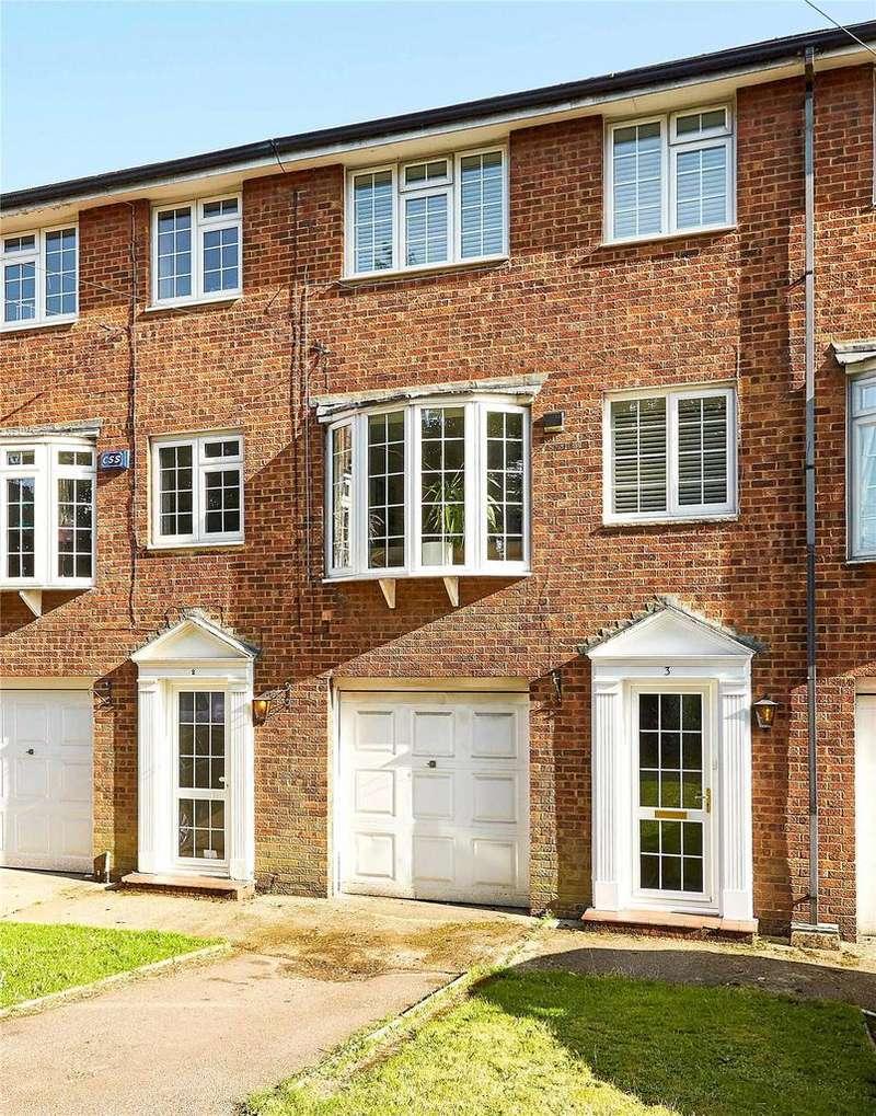 4 Bedrooms Terraced House for sale in Bradbourne Court, Bradbourne Vale Road, Sevenoaks, Kent, TN13