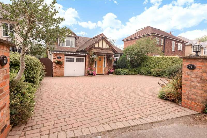 3 Bedrooms Detached House for sale in Knutsford Road, Alderley Edge, Cheshire, SK9