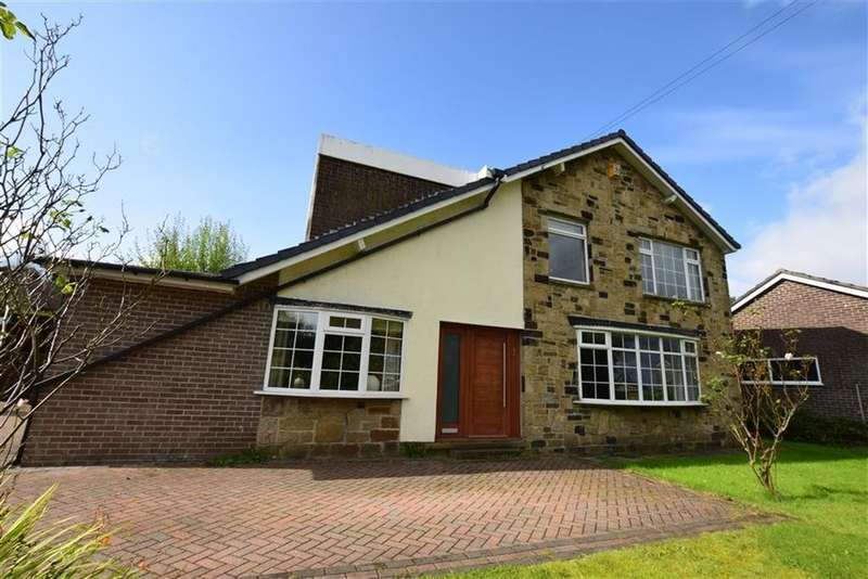 5 Bedrooms Detached House for sale in Rosegarth Avenue, Wooldale, Holmfirth, HD9