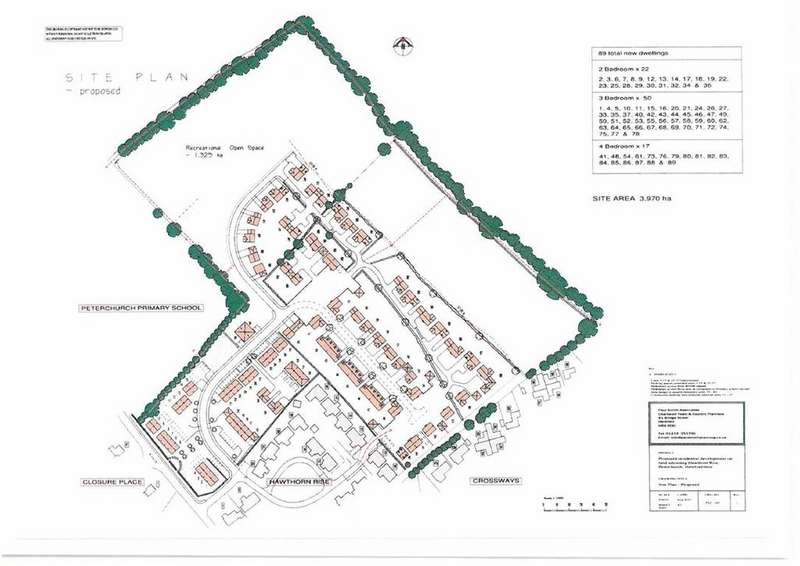 Land Commercial for sale in At Peterchurch, Peterchurch