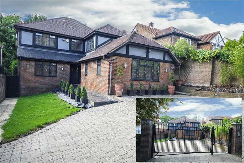 5 Bedrooms Detached House for sale in Barnet Gate Lane, Arkley, Hertfordshire