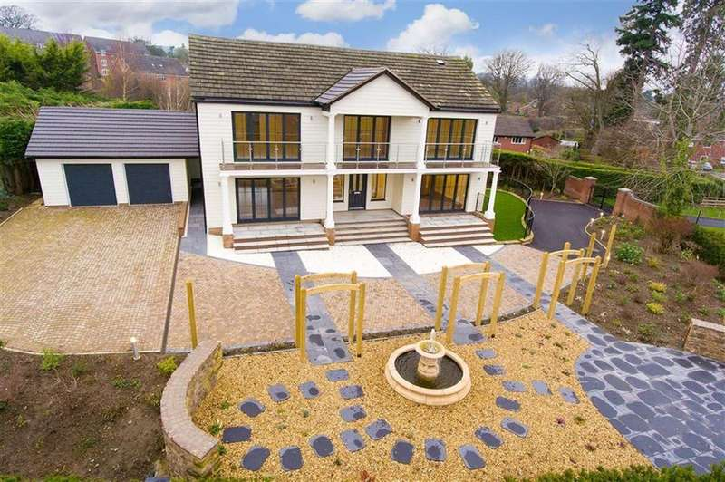 4 Bedrooms Detached House for sale in Broomhall Lane, Oswestry, Shropshire