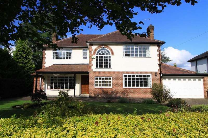 4 Bedrooms Detached House for sale in Old Meadows, 375, Bury Rochdale Old Road, Bamford, Heywood, OL10