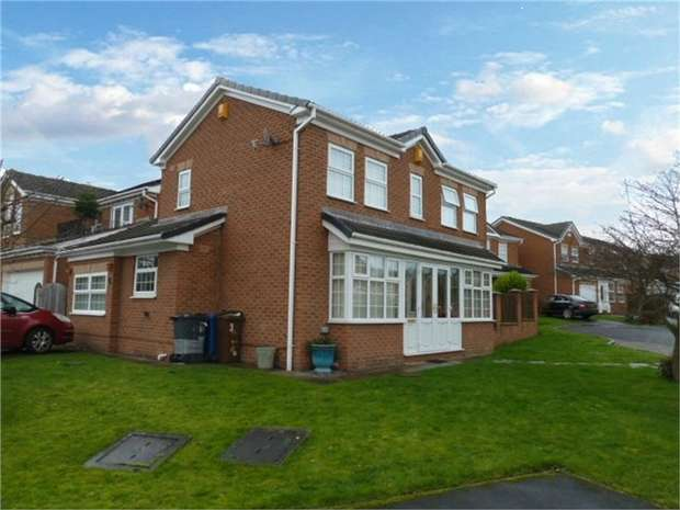 3 Bedrooms Detached House for sale in Bark Meadows, Dodworth, Barnsley, South Yorkshire