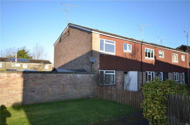 3 Bedrooms End Of Terrace House for sale in Hearsey Gardens, Blackwater, Camberley