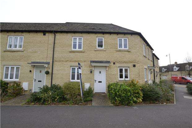 2 Bedrooms Maisonette Flat for sale in Sorrel Way, CARTERTON, Oxfordshire, OX18 1AG