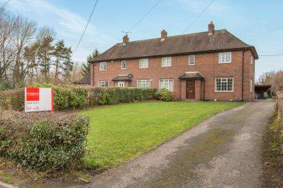 3 Bedrooms Semi Detached House for sale in Woodford Hall Cottages, Woodford Lane West, Winsford, Cheshire