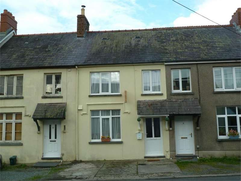3 Bedrooms Terraced House for sale in 9 Pentre Terrace, Boncath, Pembrokeshire