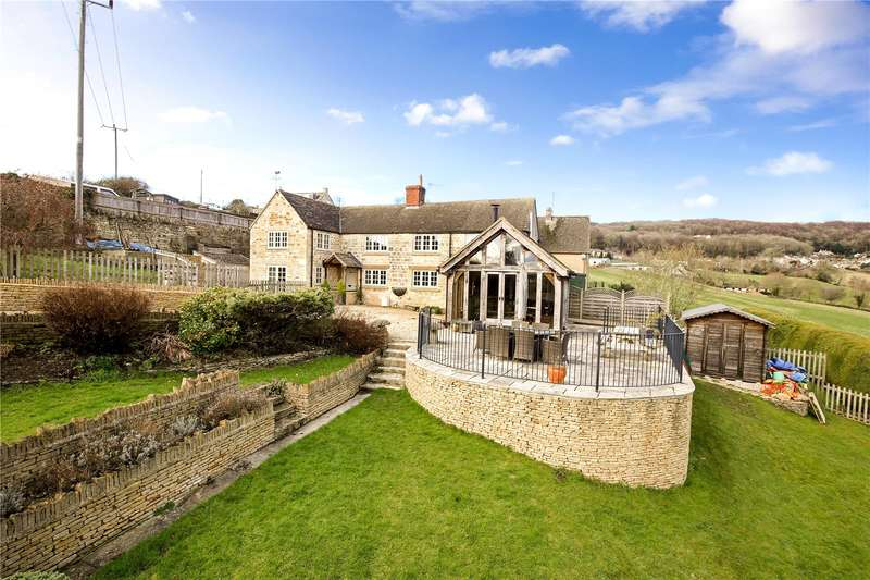 4 Bedrooms Detached House for sale in Bread Street, Ruscombe, Stroud, Gloucestershire, GL6