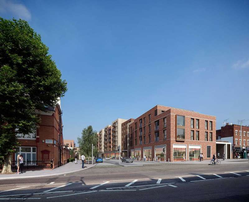 2 Bedrooms Flat for sale in Smithfield Square, Crouch End, N8