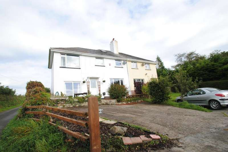 4 Bedrooms Semi Detached House for sale in The Villas, Romansleigh