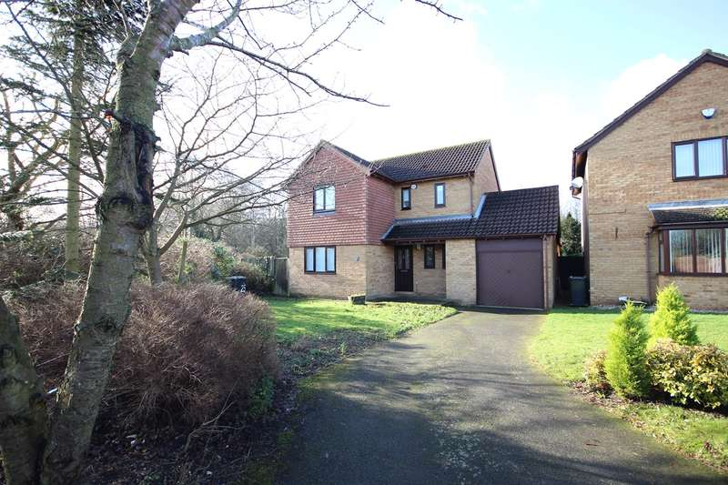 4 Bedrooms Detached House for sale in St Marys Close, Marston Moretaine, Bedford, MK43