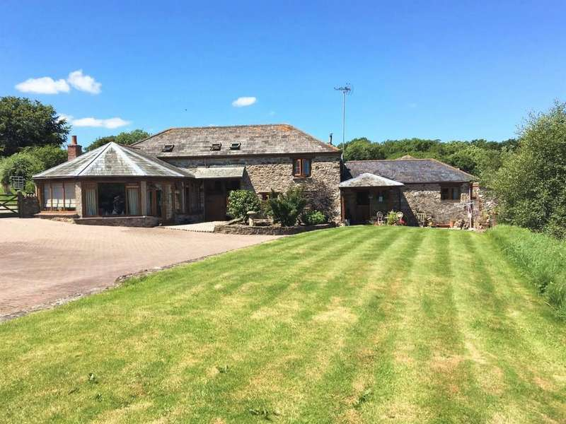 5 Bedrooms Barn Conversion Character Property for sale in Tavistock
