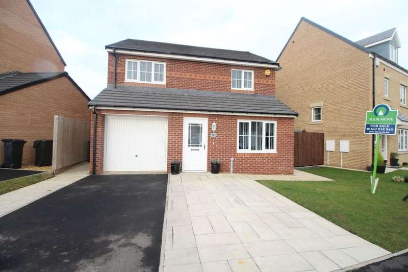 3 Bedrooms Detached House for sale in Baron Close, Middlesbrough, TS5