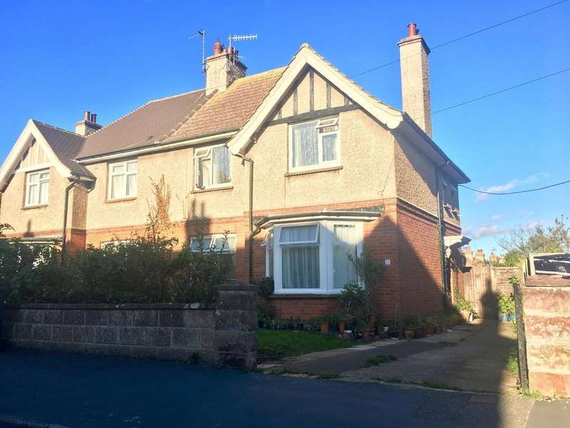 3 Bedrooms Semi Detached House for sale in Cavalry Crescent, Eastbourne, BN20