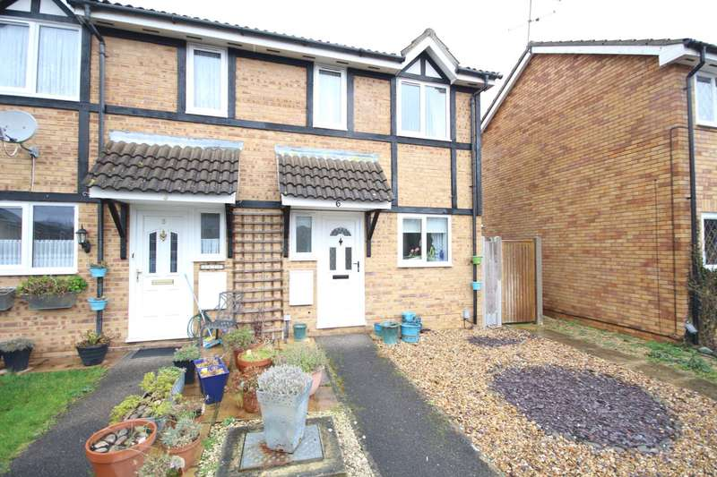 3 Bedrooms End Of Terrace House for sale in Simmonds Close, Amen Corner