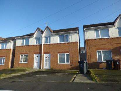 3 Bedrooms Semi Detached House for sale in Manor Row, Quernmore Road, Kirkby, Liverpool, L33