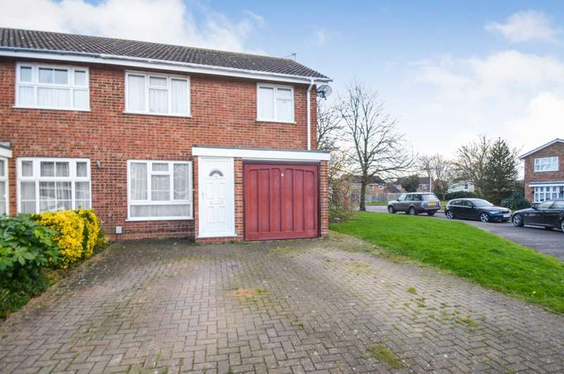 3 Bedrooms Semi Detached House for sale in Lyra Gardens, Leighton Buzzard
