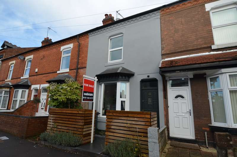 3 Bedrooms Terraced House for sale in Addison Road, Kings Heath, Birmingham, B14