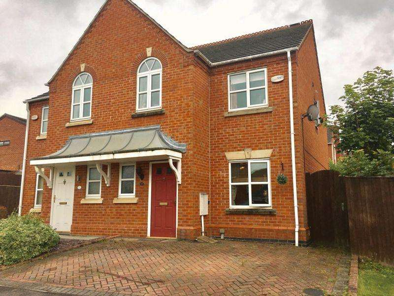 3 Bedrooms Semi Detached House for sale in Coronation Street, Swadlincote