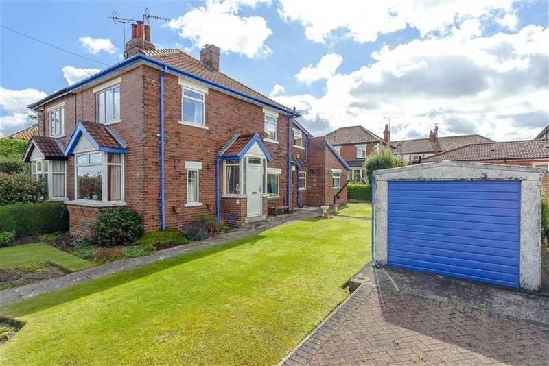 3 Bedrooms Semi Detached House for sale in Hillside Road, Pannal, North Yorkshire