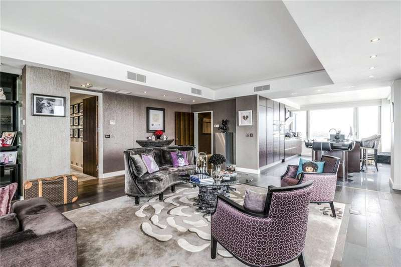 4 Bedrooms Flat for sale in The Belvedere, Chelsea Harbour, Chelsea, London, SW10