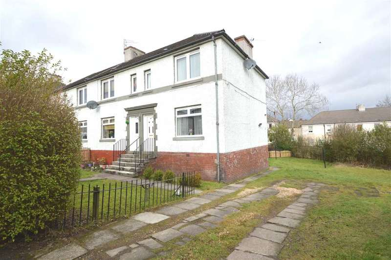 2 Bedrooms End Of Terrace House for sale in Craigview Road, Motherwell