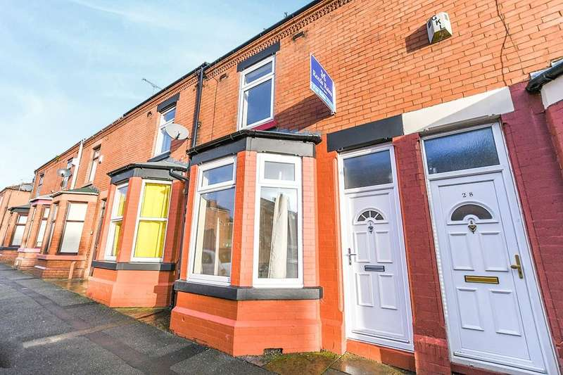 2 Bedrooms Terraced House for sale in Park Road, Widnes, WA8