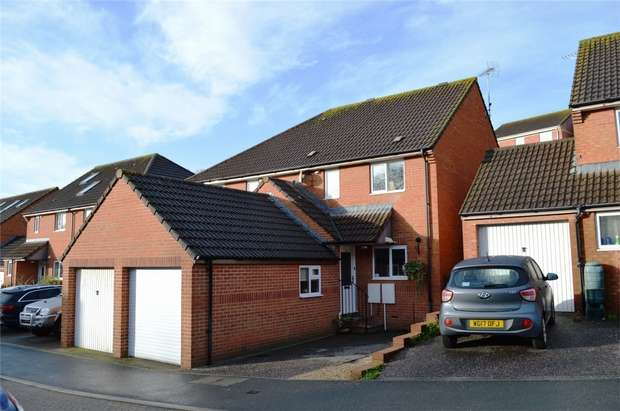 3 Bedrooms Semi Detached House for sale in 14 Lovering Close, EXMOUTH, Devon