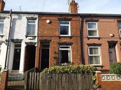 2 Bedrooms Terraced House for sale in Fisher Lane, Mansfield, Nottinghamshire