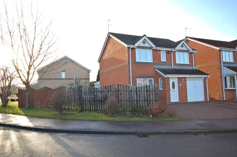 4 Bedrooms Detached House for sale in Brookes Rise, Langley Moor, Durham