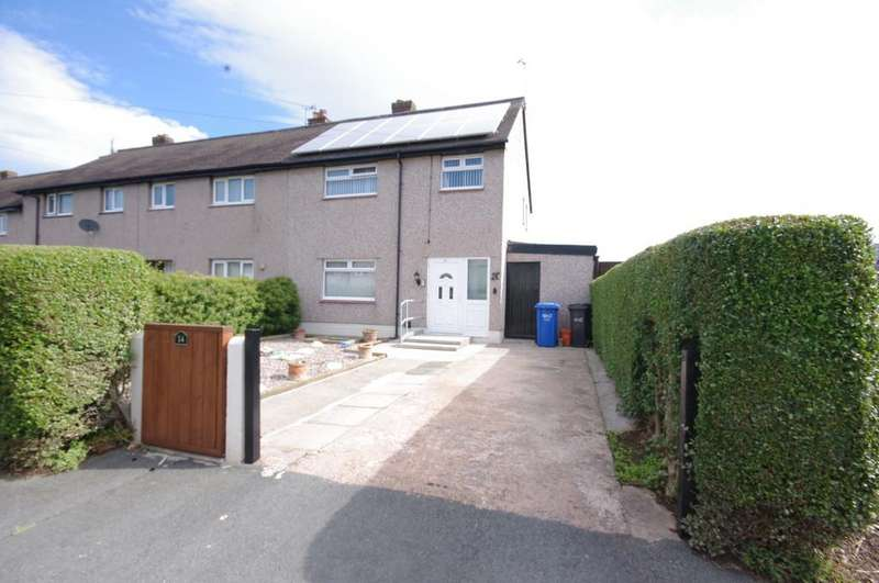 3 Bedrooms End Of Terrace House for sale in Ffordd Ty Newydd, Prestatyn