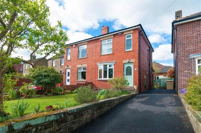 3 Bedrooms Semi Detached House for sale in Lidgett Lane, Skelmanthorpe, Huddersfield, HD8 9AQ