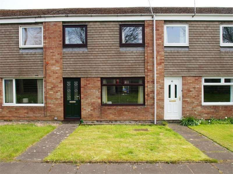 3 Bedrooms Terraced House for sale in 11 Rowntree Avenue, Tweedmouth, Berwick-upon-Tweed, Northumberland