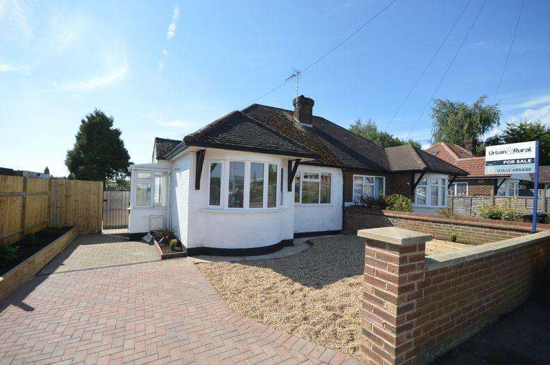 2 Bedrooms Semi Detached Bungalow for sale in Park Avenue, Luton