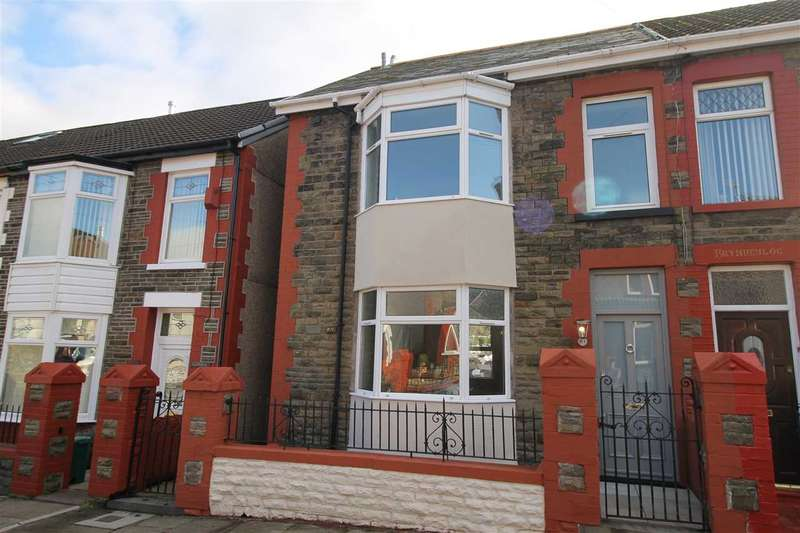 3 Bedrooms Semi Detached House for sale in Chevron Street, Porth, Porth