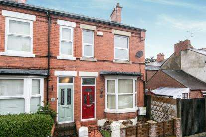 2 Bedrooms End Of Terrace House for sale in Meredith Street, Wrexham, LL13