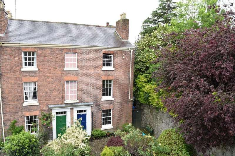 3 Bedrooms Semi Detached House for sale in Salop Road, Welshpool, Powys