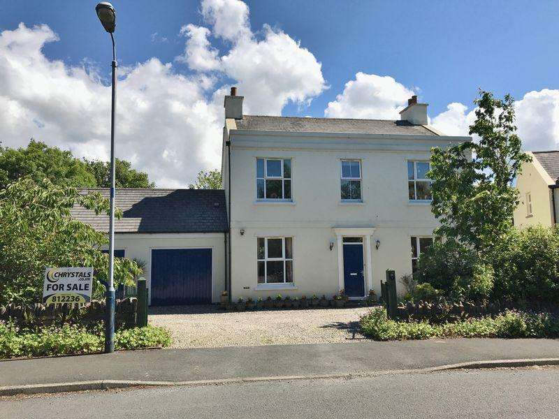 4 Bedrooms Detached House for sale in The Millrace, Sulby, IM7 2HT