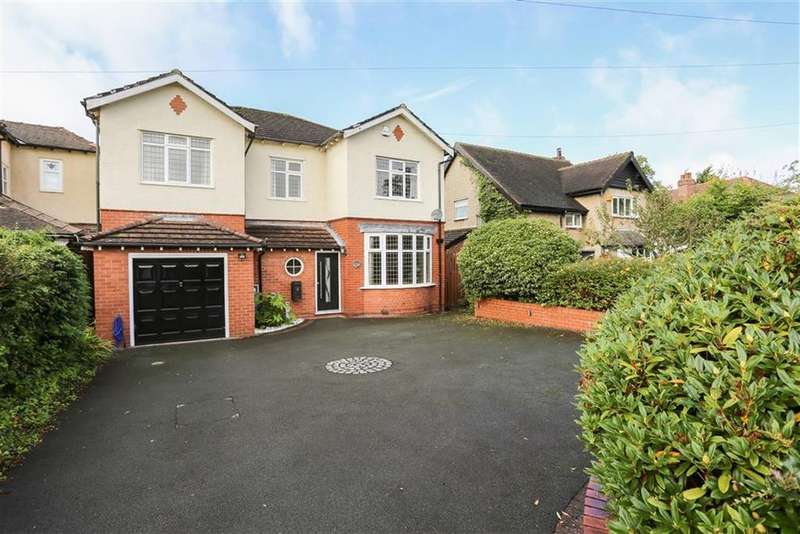 5 Bedrooms Detached House for sale in Lansdowne Avenue, Romiley, Cheshire