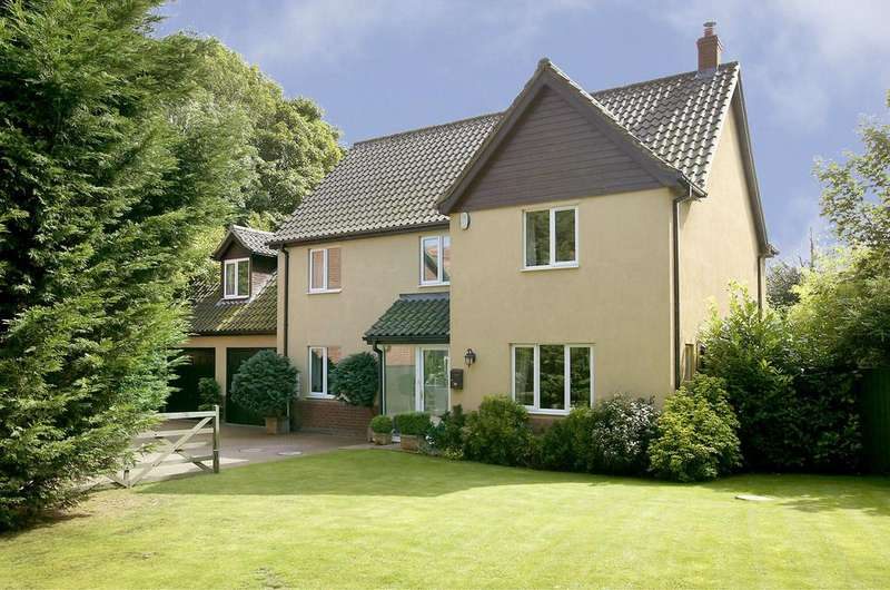 5 Bedrooms Detached House for sale in The Glebe, Hockering