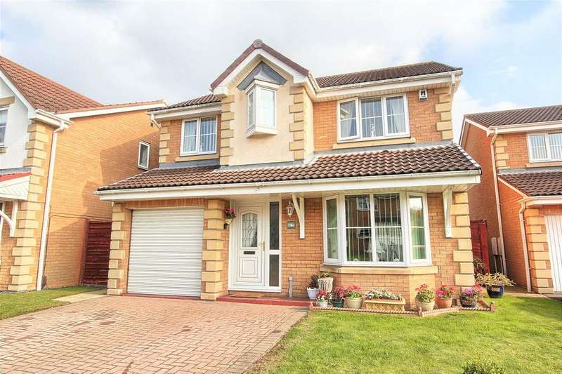 4 Bedrooms Detached House for sale in Gainsborough Crescent, Wolviston Grange
