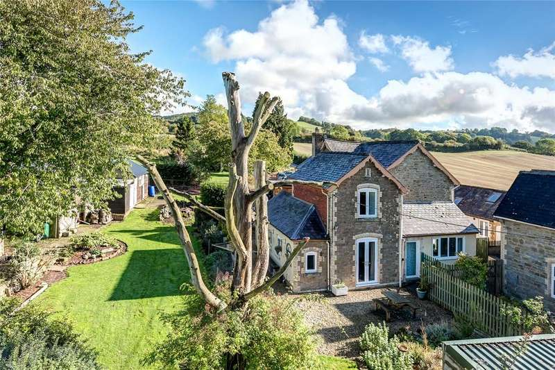 4 Bedrooms Equestrian Facility Character Property for sale in Hightree Bank, Leintwardine, Craven Arms, Shropshire