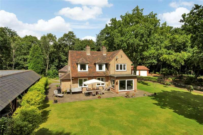 4 Bedrooms Detached House for sale in Blidworth Waye, Papplewick, Nottinghamshire