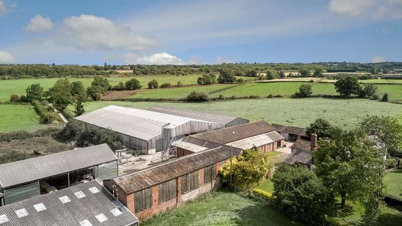 4 Bedrooms Barn Conversion Character Property for sale in Farm Buildings for conversion, Gorstage, CW8 2SF