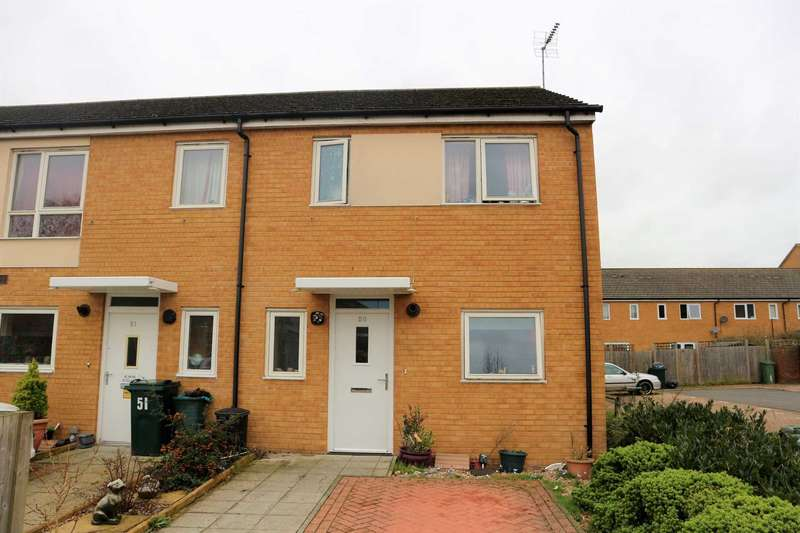 3 Bedrooms End Of Terrace House for sale in Luddenham Close, Ashford