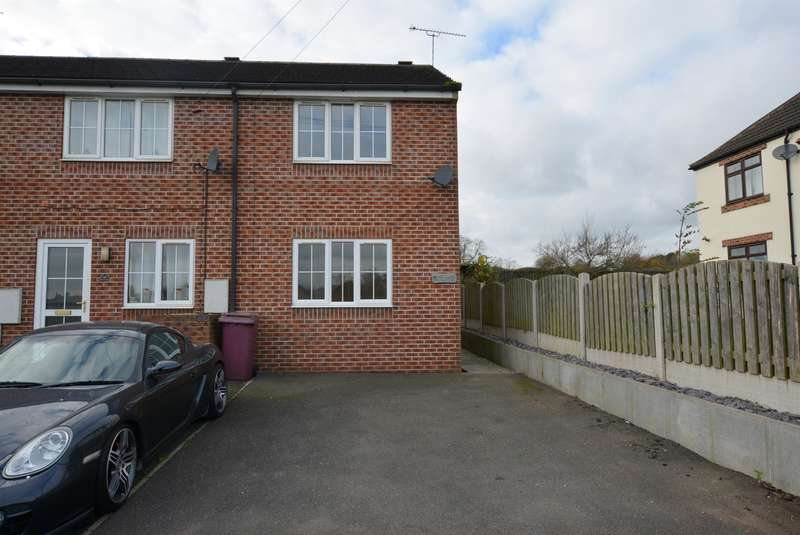 2 Bedrooms Town House for sale in Guildford Lane, Danesmoor, Chesterfield, S45 9BP